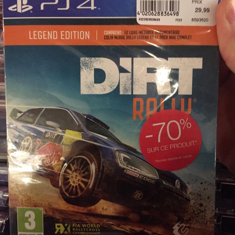 Dirt Rally Legend édition sur PS4 - Parinor (93)