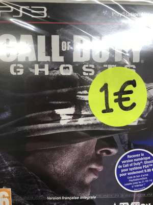 Jeu Call of duty Ghosts sur PS3 - E.Leclerc Acheres (78)