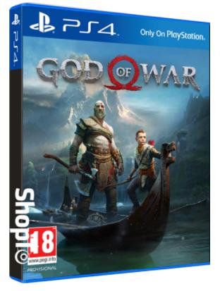 Précommande : Jeu God of War 4 sur PS4