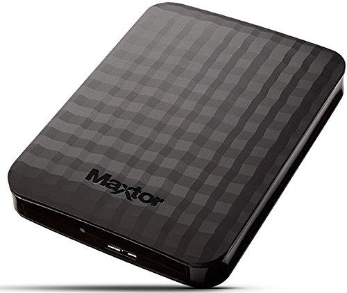 """Disque dur externe 2.5"""" Maxtor M3 Portable (STSHX-M101TCBM - 1 To (vendeur tiers)"""
