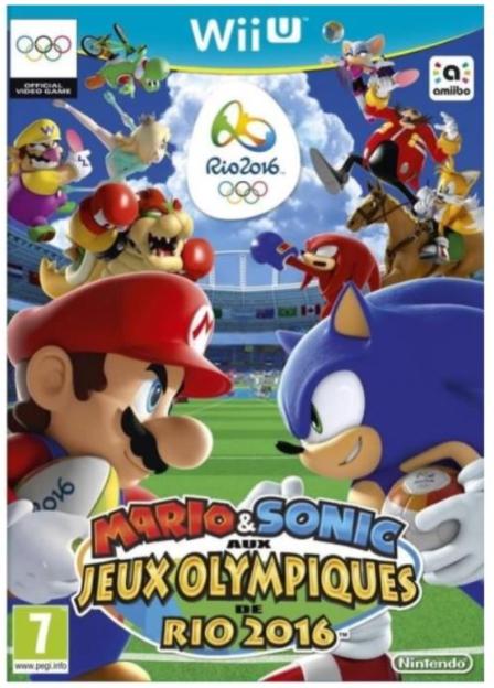 Jeu Mario & Sonic aux jeux Olympiques de Rio 2016 sur Wii U - Via applications mobiles