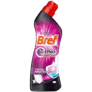 Gel WC Bref Power gel (50% sur la carte + BDR)