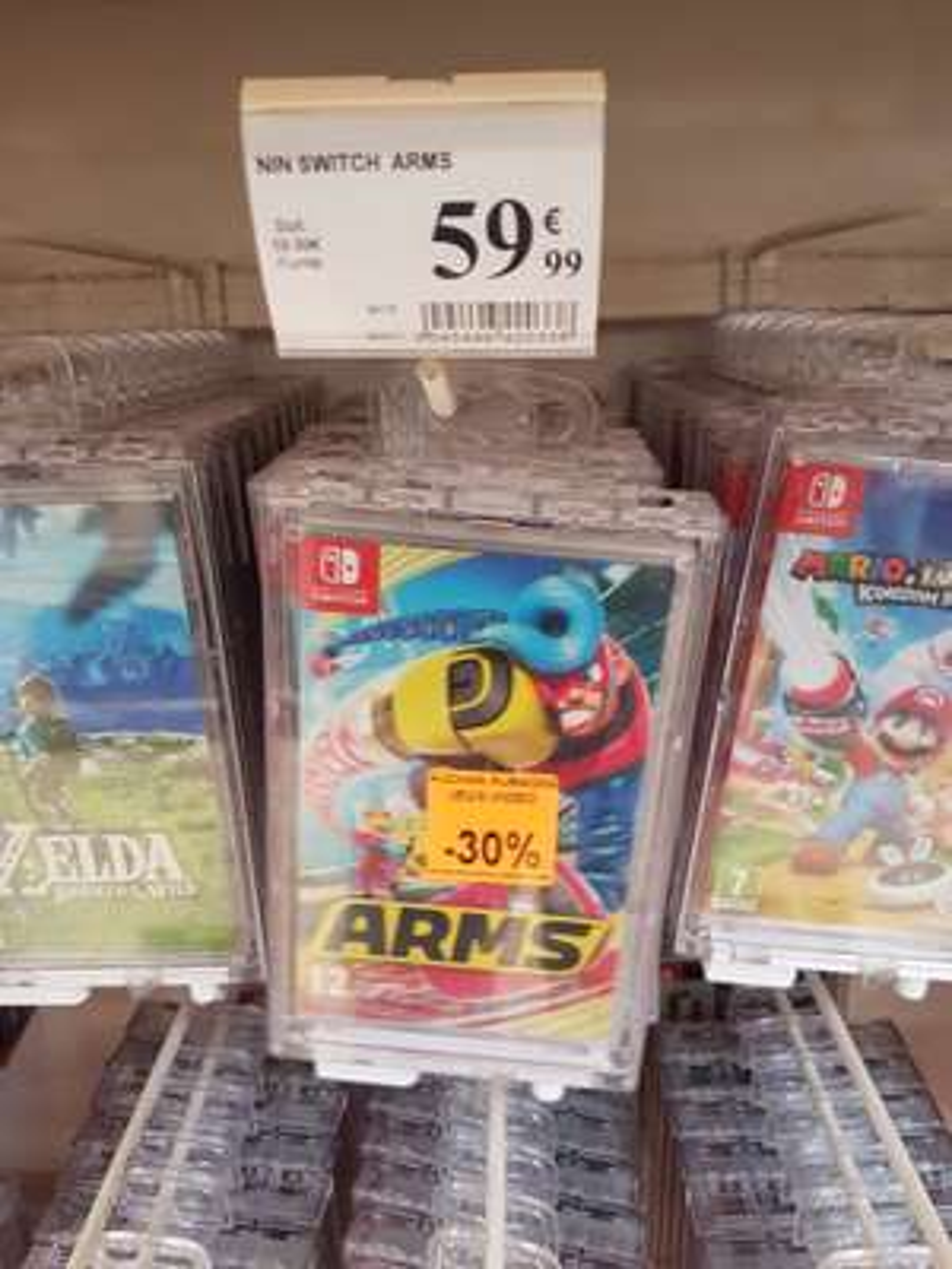 Jeu Arms sur Nintendo Switch - Aubagne (13)
