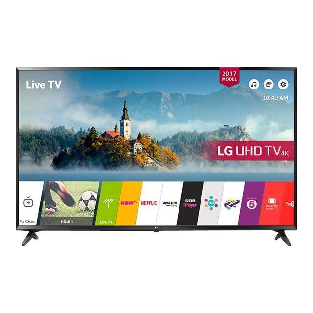 """TV LED 65"""" LG 65UJ630V - IPS UHD 4K, Active HDR, Smart TV (via ODR 200€)"""