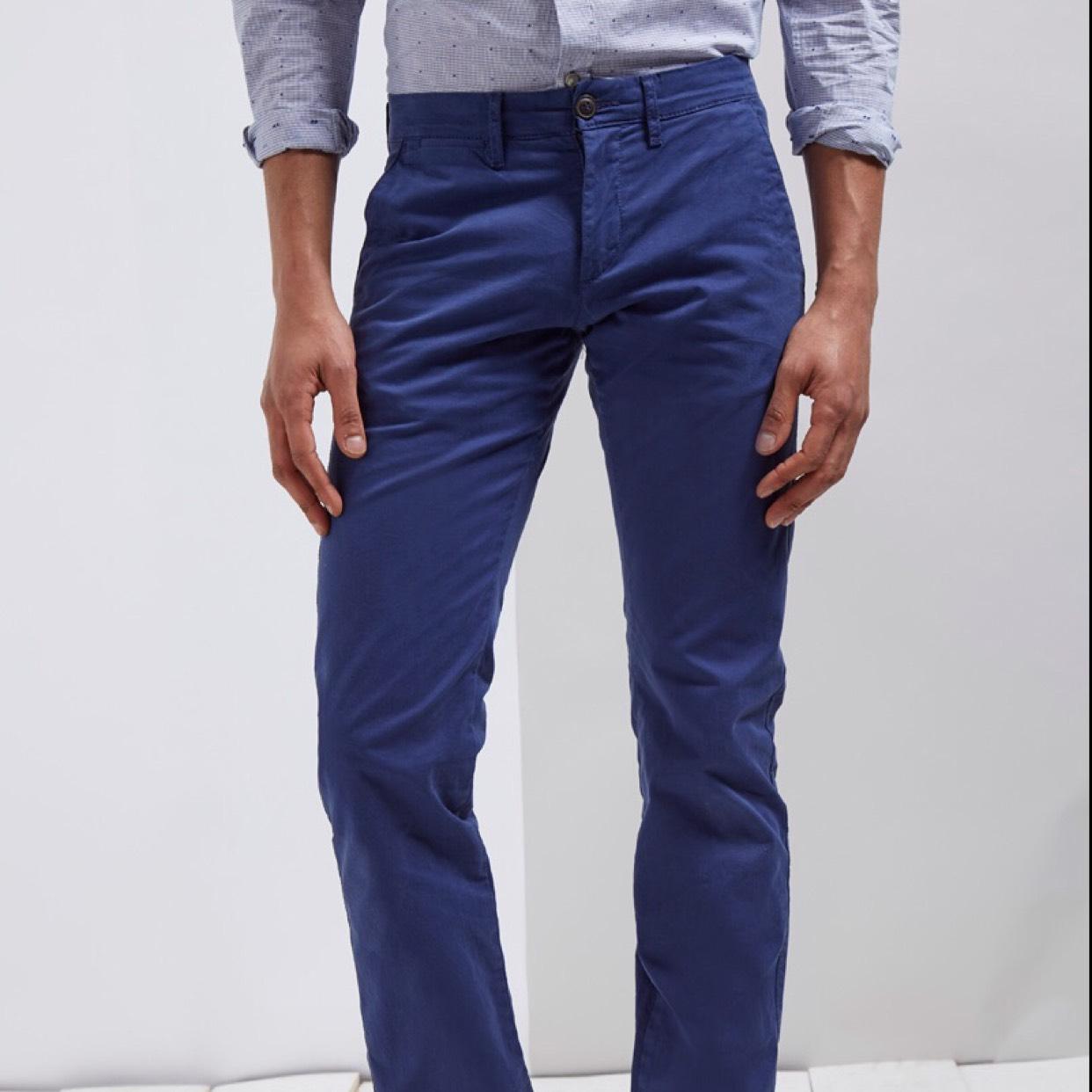 Sélection de produits Celio en promotion - Ex : Pantalon droit Indigo