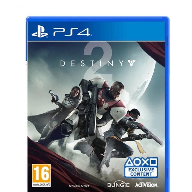Destiny 2 sur ps4 et Xbox One ( frontaliers Belgique )