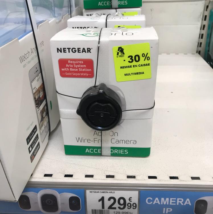 Caméra de vidéo surveillance Netgear Arlo - Porte des Alpes (69)
