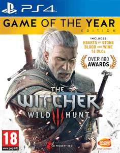 The Witcher 3: Wild Hunt - Game of the Year Edition (Voix et textes anglais) sur PS4 ou Xbox One
