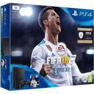 Console Sony PS4 Slim 1 To - Noir + Fifa 18