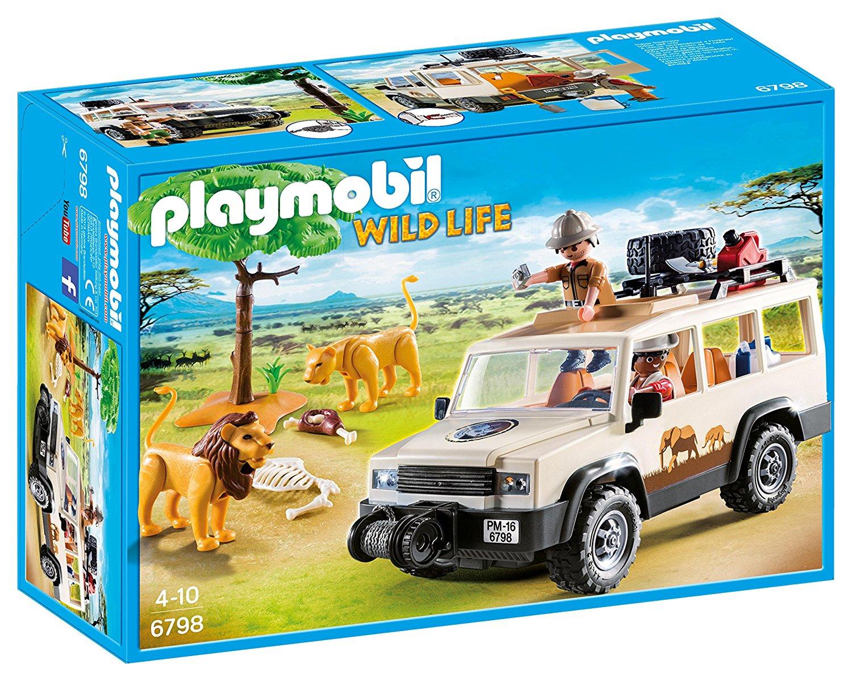 Playmobil 6798 - Aventuriers avec 4x4 et couple de lions