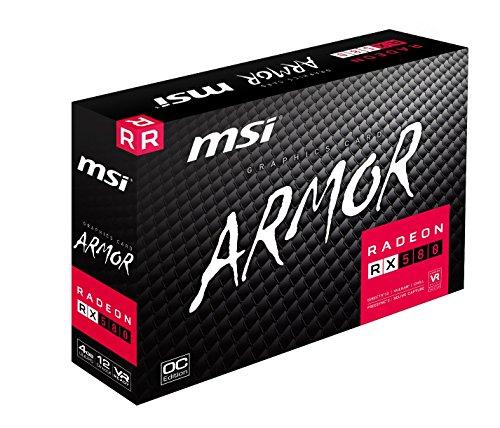 [Précommande] Carte graphique MSI AMD Radeon RX 580 ARMOR OC - 4 Go, 1366 MHz