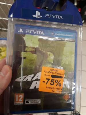 Gravity Rush sur PS Vita au Auchan Grande-Synthe (59)
