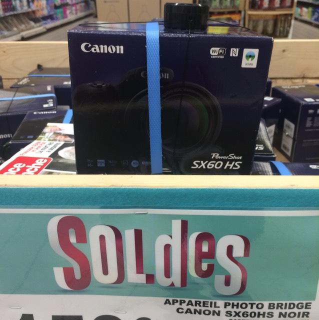 Appareil Photo Numérique Canon PowerShot SX60 HS - Villbon/Yvette(91)