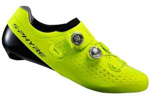 Chaussures Shimano S-PHYRE RC9 Jaune -Tailles 43 ou 46