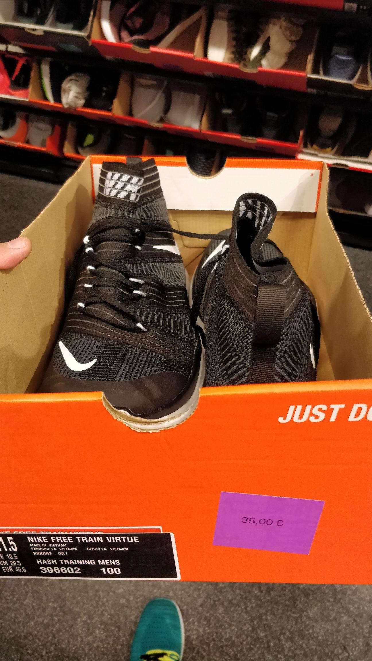 50% de réduction sur toutes les paires de chaussures homme inférieures à 45€ - Paris nord 2 (95)