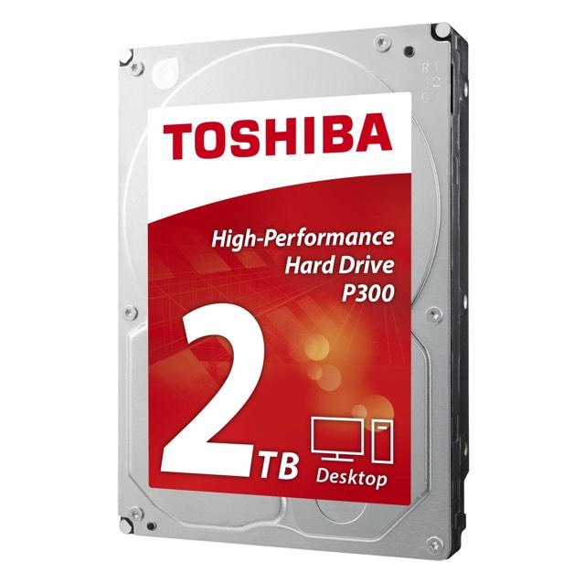 """Disque dur 3.5"""" Toshiba  P300  2 To, 7200Tours"""
