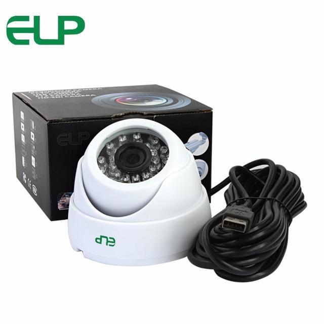 Camera de surveillance Dome - USB 2mpx, compatible raspberry pi