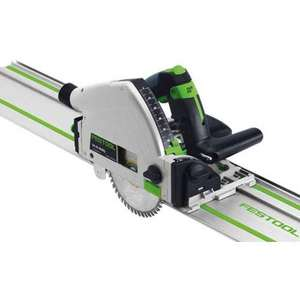 Scie plongeante 160mm 1050W TS 55 RQ-Plus + Rail de guidage FS 1400/2 FESTOOL