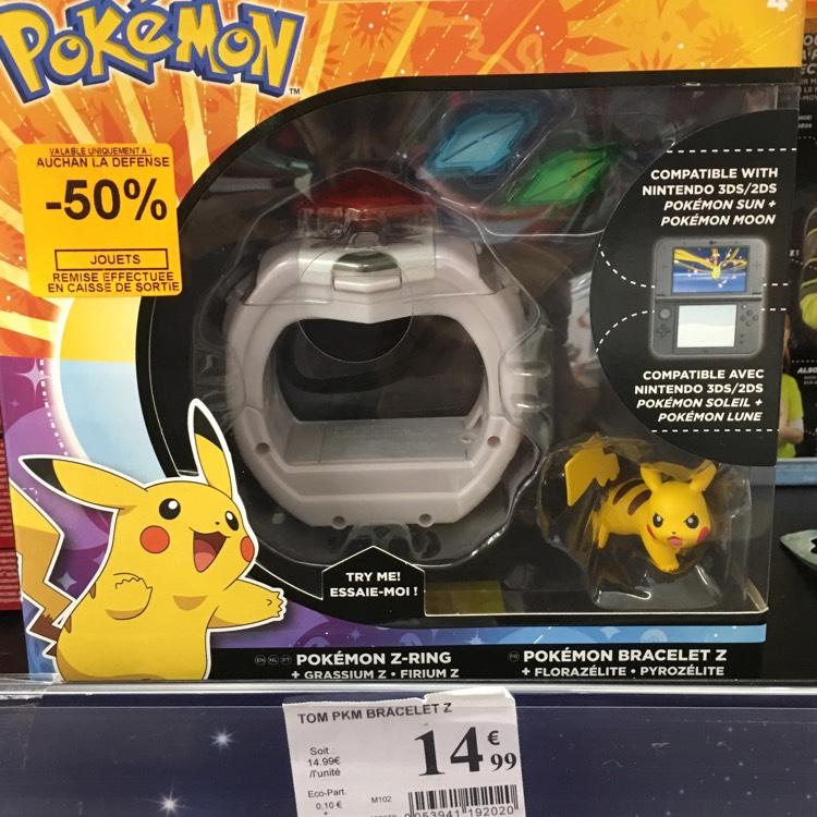 Bracelet Pokémon Z - compatible 2DS / 3DS à Auchan La Défense Puteaux (92)