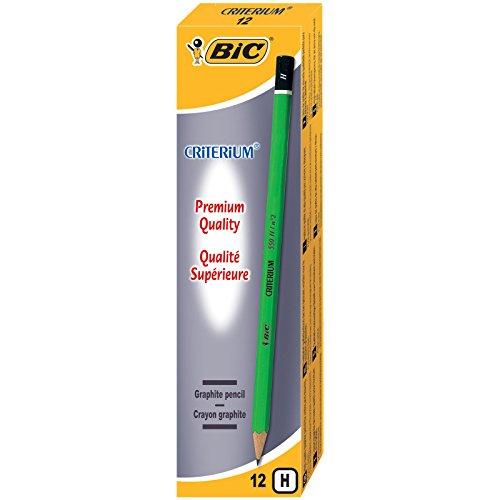 [Panier Plus] Boîte de 12 crayons à papier Bic Criterium 550 H