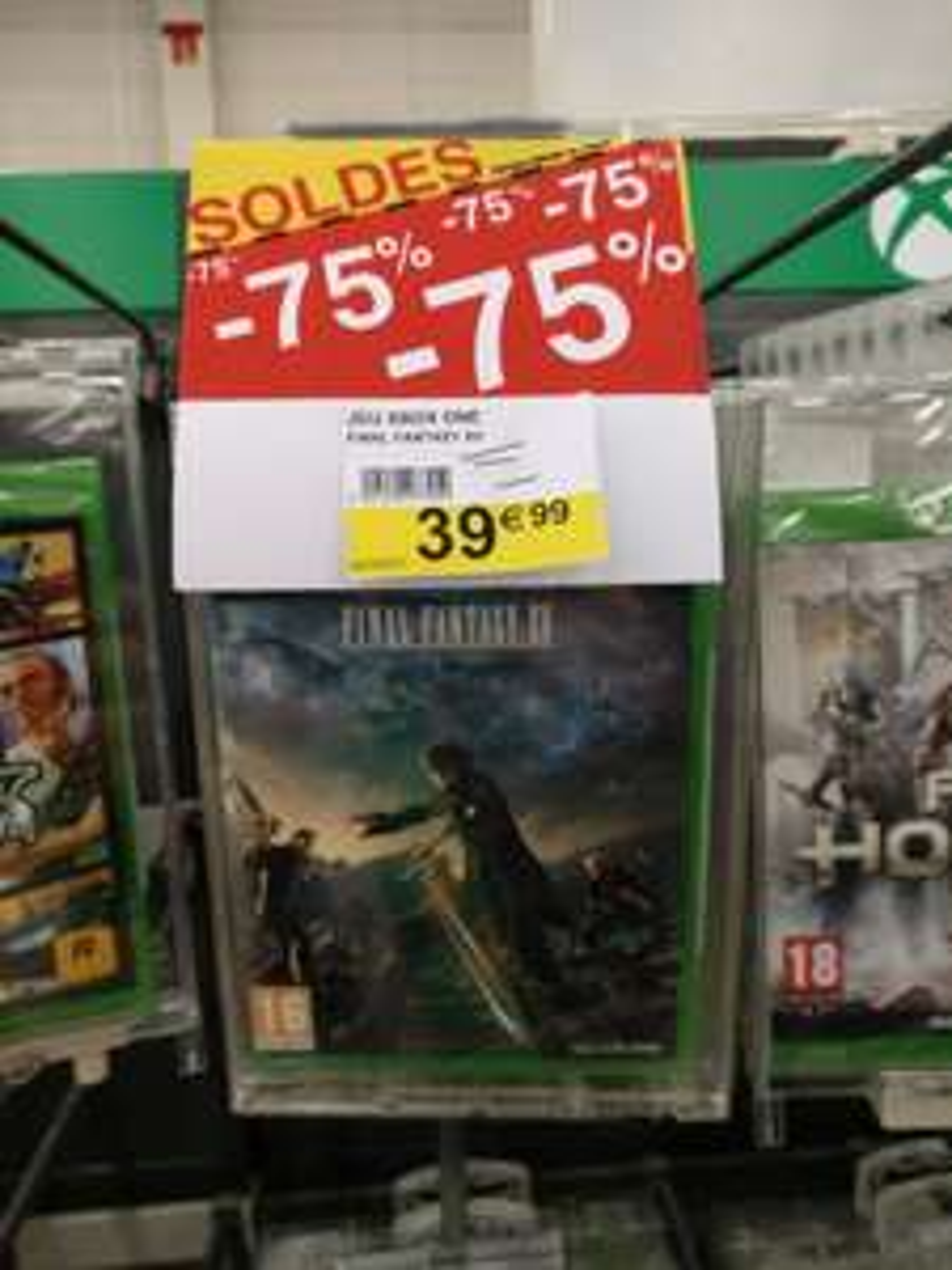 Final Fantasy XV - Édition Day One sur PS4 et Xbox One au Cora Metz (57)