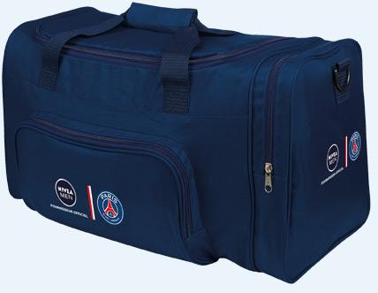 Un sac de sport Paris SG offert pour l'achat de 2 produits Nivea Men (dont 1 crème visage)