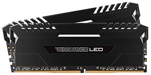 Kit mémoire DDR4 Corsair Vengeance LED White - 16 Go (2x8Go) 3000 MHz CL15