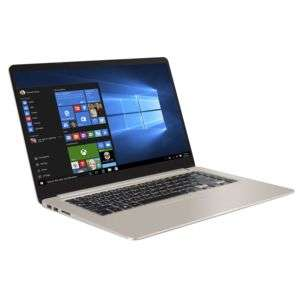 "PC Portable 15.6"" Full HD ASUS- VivoBook S15 - Intel Core i7-8550U, HDD 1To, SSD 128Go, RAM 6Go, Windows 10"
