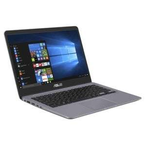 "PC Portable 14"" Asus Vivobook S410UN-EB136T - Full HD, i7-8550U, RAM 8Go, SSD 128Go + 500Go GeForce MX150 2Go, Windows 10"