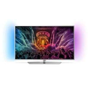 "TV LED 55"" Philips 55PUS6551 avec Ambilight 2 Côtes - UHD 4K, HDR, Smart TV (Android)"