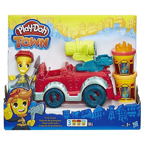 [Panier Plus] Jouet Play-Doh B3416eu40 - Town - Camion De Pompier