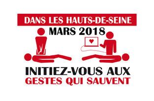Initiation gratuite aux gestes qui sauvent - Mars 2018