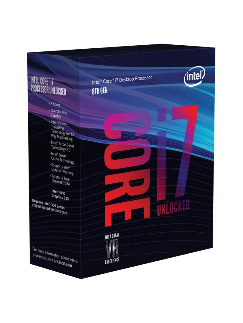 Processeur Intel core i7-8700K