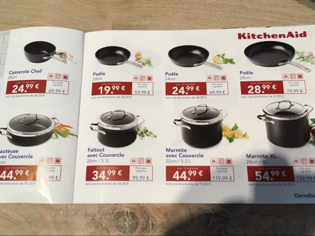 Sélection d'ustensiles de cuisine Kitchenaid - Ex : Classic Mini-Mixeur (via 10 vignettes)