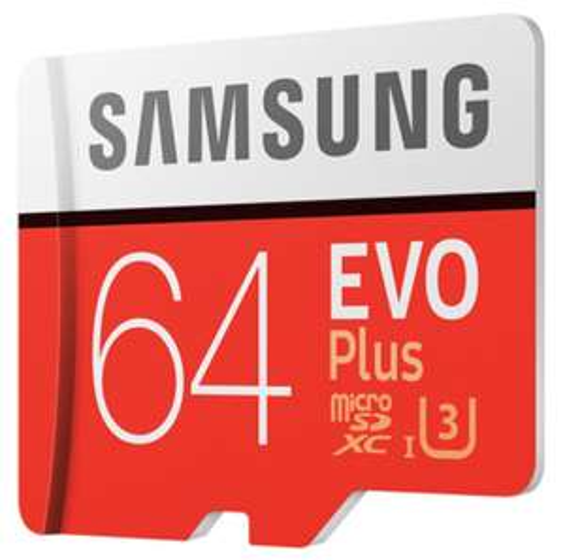 Carte microSDXC Samsung EVO Plus U3 - 64 Go