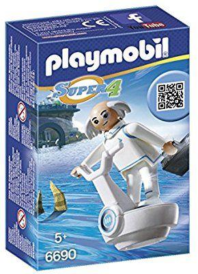 [Panier Plus] Jouet Playmobil 6690 Super4 Docteur X