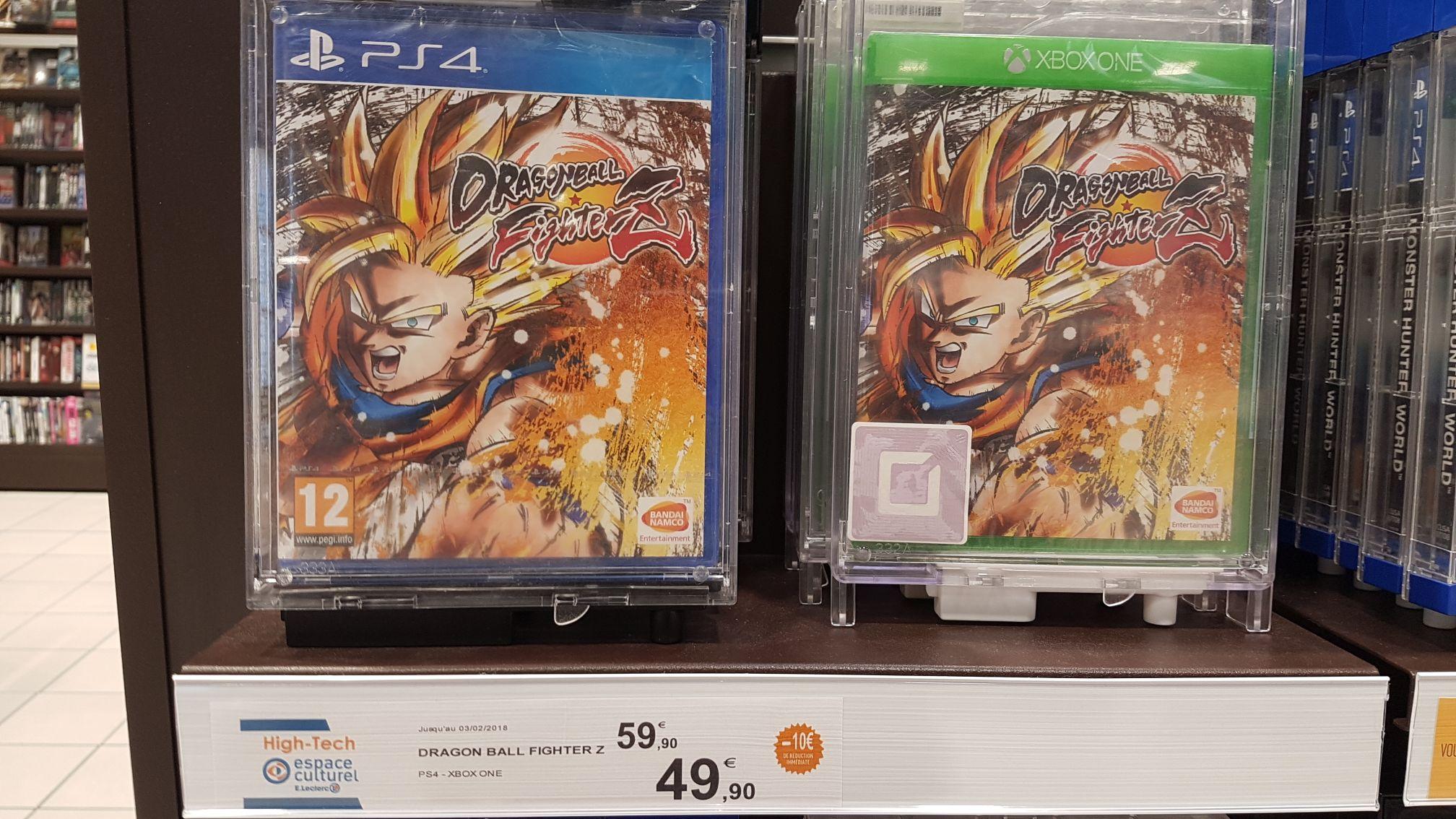 Dragon Ball FighterZ sur PS4 et Xbox One - Leclerc Bellaing (59)