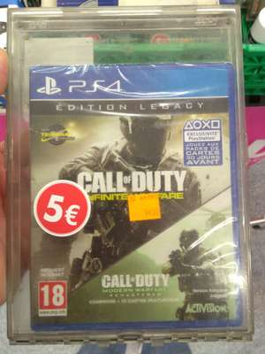 Call of Duty: Infinite Warfare - Édition Legacy sur PS4 au Carrefour Soleil Créteil (94)