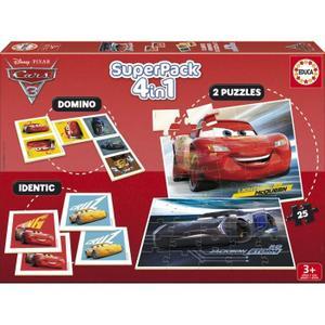 Jeu éducatif Educa Superpack Cars 3