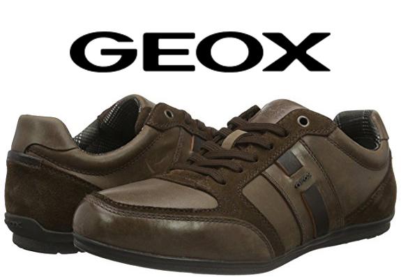 Chaussures Geox U Houston A mi-cuir  marron (du 39 au 45) à partir de