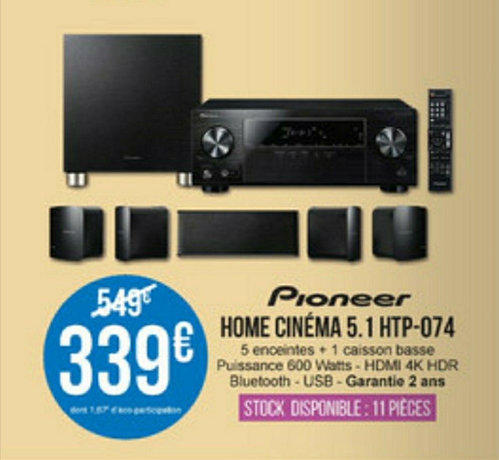 Home cinéma 5.1 Pioneer HTP-074 - Saint-Médard-en-Jalles (33)
