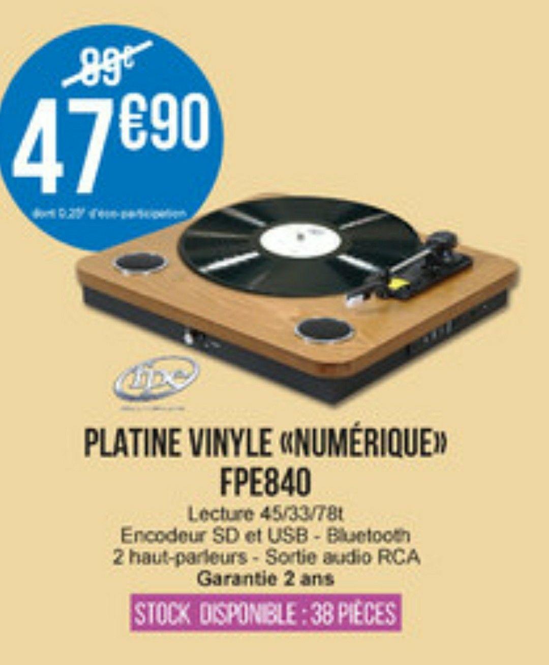Platine vinyle numerique FPE840 - Saint-Médard-en-Jalles (33)