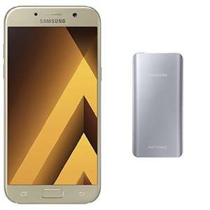 "Smartphone 5.2"" Samsung Galaxy A5 2017 Or - 32 Go + Batterie externe Fast Charge 5200 mAh (via ODR de 50€ + 20€)"