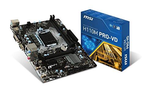 Carte mère MSI H110M Pro-VD - socket 1151