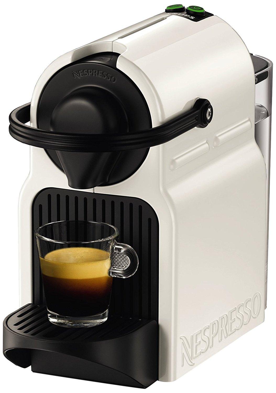 Machine à capsules Krups Nespresso Inissia (YY1530FD, blanc) + 70€ offerts en capsules de café (via ODR et retrait Click & Collect)