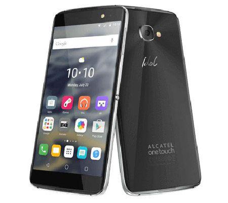 "Smartphone 5.5"" Alcatel Idol 4S (SnapDragon 652, 3 Go de RAM, 32 Go, noir) + casque VR"