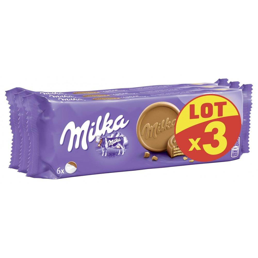 Lot de 3 paquets de Milka Choco-Suprême - 180 g au Carrefour Vernon (27)