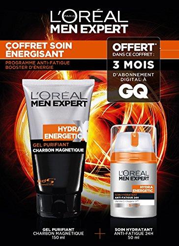 [Panier Plus] Coffret de 2 produits L'Oréal Men Expert Hydra Energetic + 3 mois d'abonnement au magasin GQ