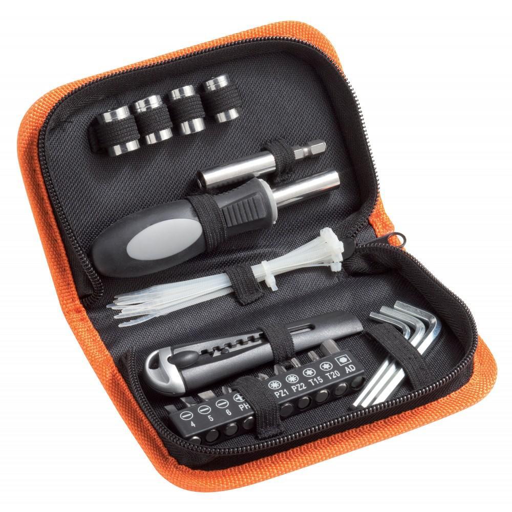 Trousse à outils 32 pièces + Disque à tronçonner