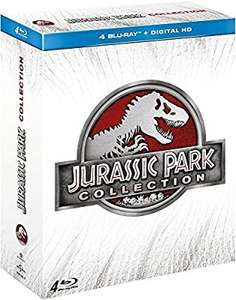Coffret blu-ray: Jurassic Park Collection (4 films)